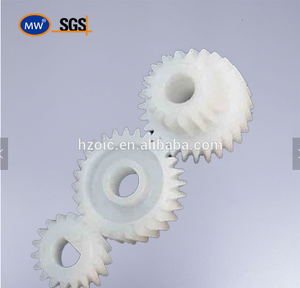 Customized Plastic double spur gears for machine