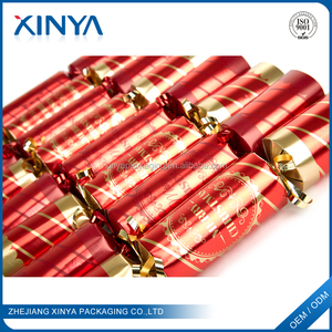 XINYA Best Selling Products Novelty Christmas Cracker Bon Bons With Gift And Snaps