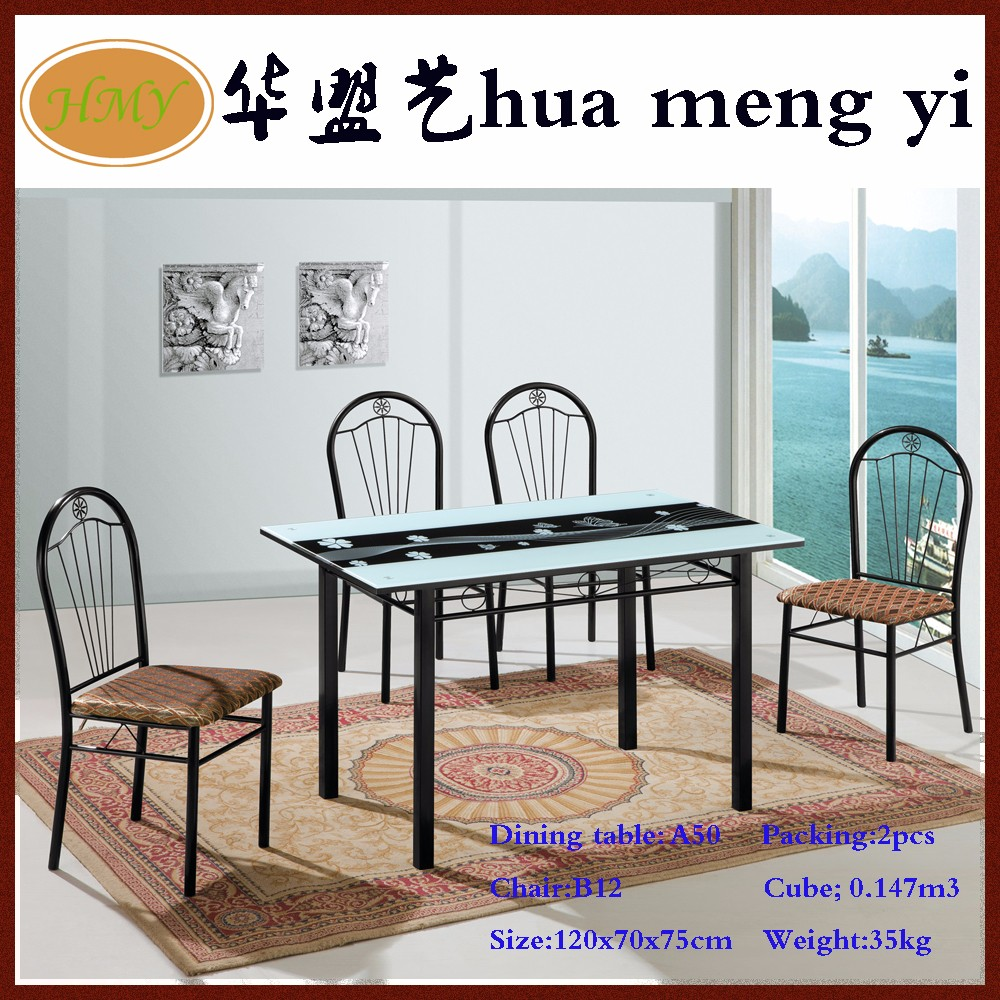 Cheap Glass Dining Sets: Cheap Metal And Glass Children Dining Table And Chair Sets
