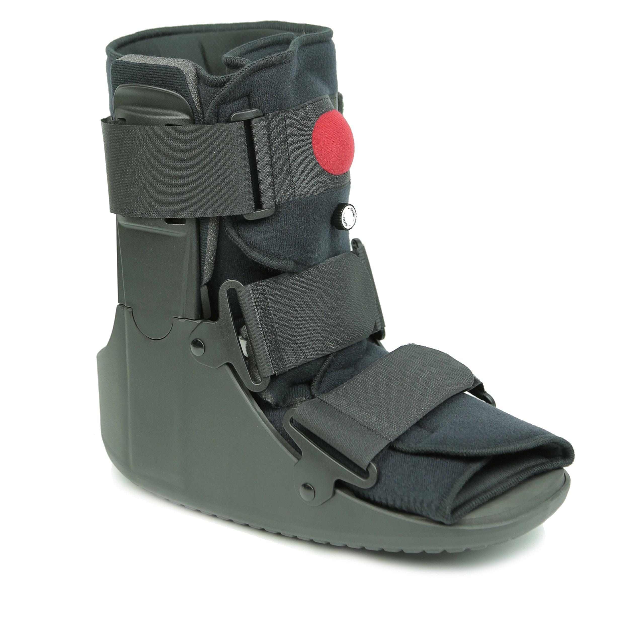 Mars Wellness Premium Short Air Cam Walker Fracture Ankle / Foot Stabilizer Boot - Medium