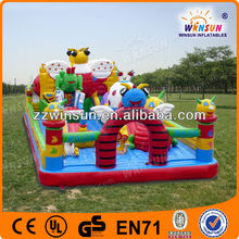 Mega Funny Air Blown Bouncer Castle with Slide Inflatable