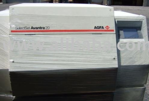 AGFA AVANTRA 20 IMAGESETTER WITH INLINE PROCESSOR EXL