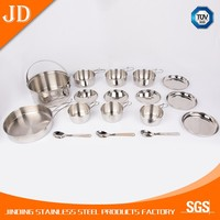 Best price of hotel restaurant kitchen stainless steel cookware