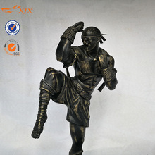 Collectible bronze finish league of legends LOL figura resina <span class=keywords><strong>monge</strong></span> cego