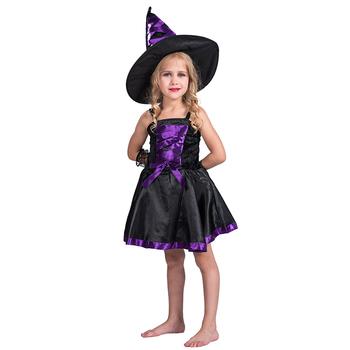 Kids New Halloween Costumes Dress Girls Carnival Party Fancy Dress Halloween Black Witch Costumes For Girls Buy Halloween Costume Witch Costumes For Girls Halloween Costumes Girls Product On Alibaba Com