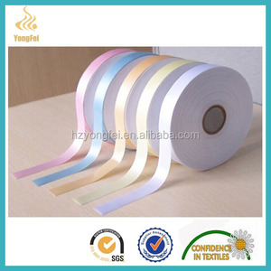 Alibaba Huzhou Supplier Hot Sales Wholesale Polyester Satin Ribbon
