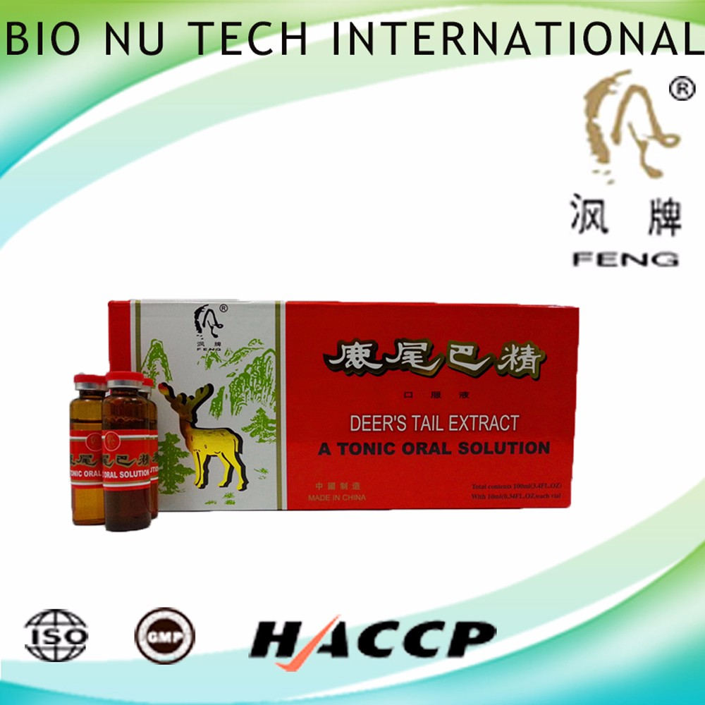 Health drink enhance body function Deer's tail extractum royal jelly