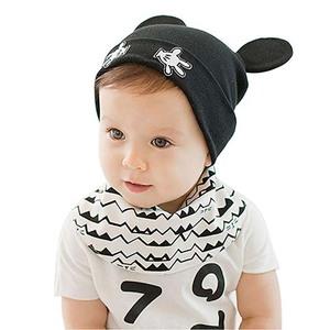 7f817e161a6ee Infant Baby Boys Girls Knit Beanie Cap Winter Warm Cute Bear Fleece Lined  Toddler Kids Hat