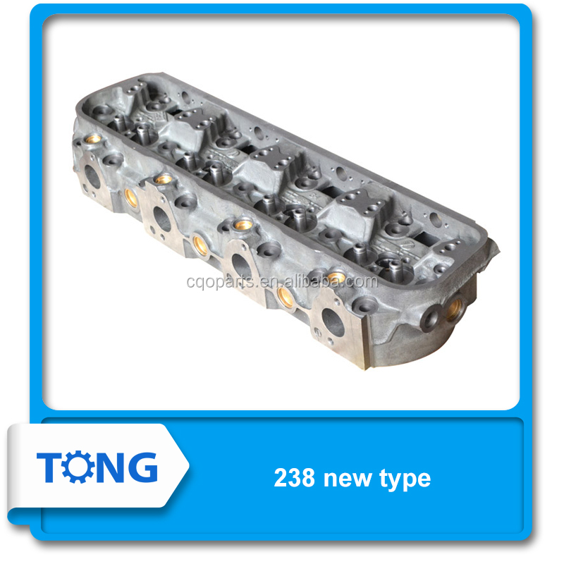 Iron cylinder head for YaMZ 238 new type