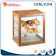 3 tire wood bread display stand bakery for cake storage