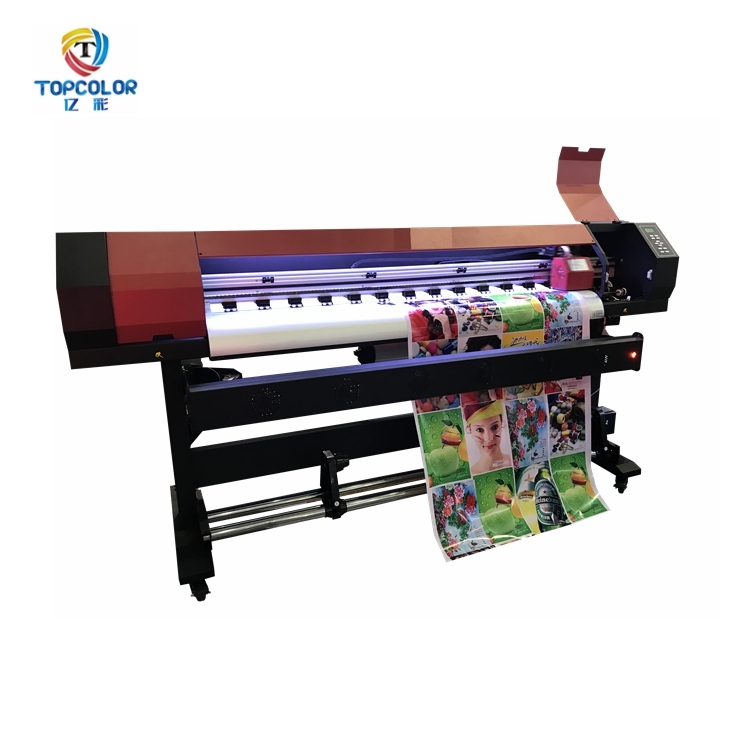 Professional 1.68m 1.8m outdoor printer inkjet indoor printer 1440dpi resolution dx5 dx7 xp600 head ecosolvent printer