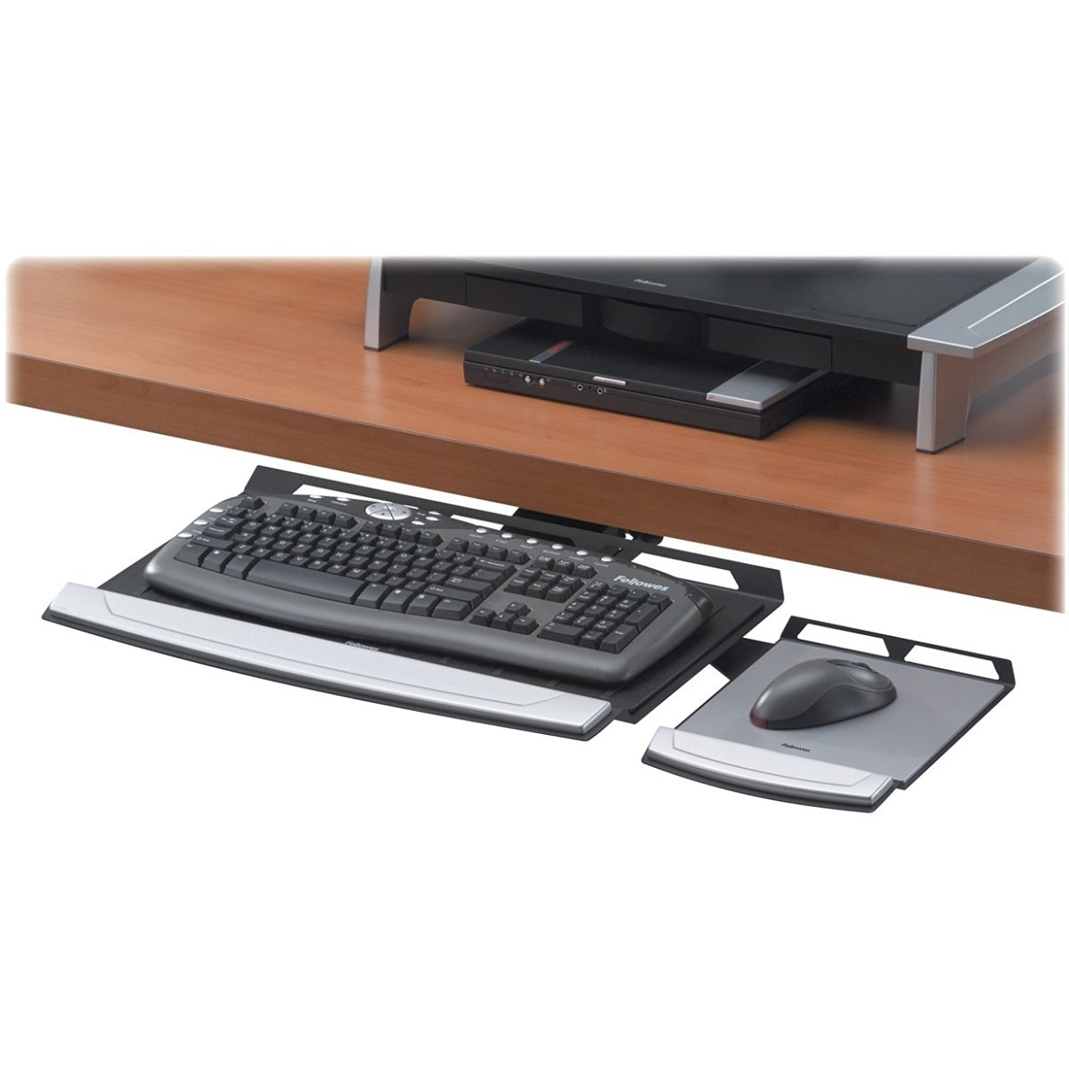 Ordinaire FELLOWES 8031301 Office Suites Adjustable Keyboard Tray