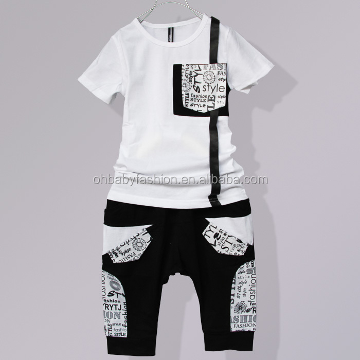 Hot Sale 2 Pcs Summer T Shirts Kids Clothes Child Clothes Made In ...