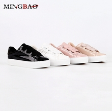 Latest Custom PU Flat wenzhou women shoes