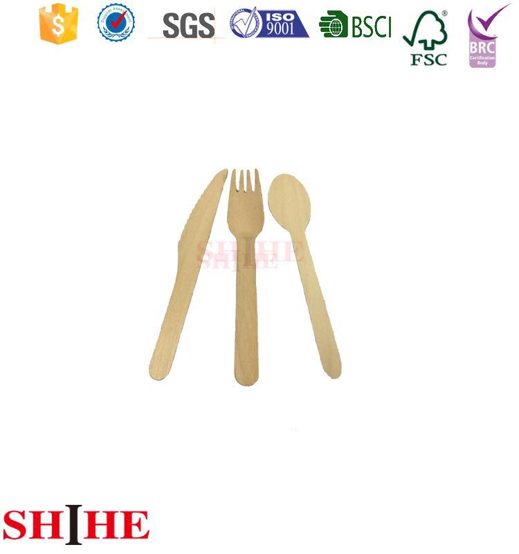 Disposable,Stocked,Eco-Friendly Feature wooden cutlery / flatware / tableware