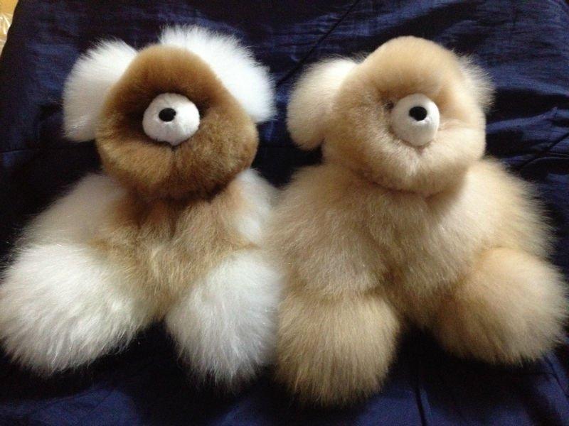 100 Baby Alpaca Fur Stuffed Teddy Bear Buy Alpaca Teddy Bear