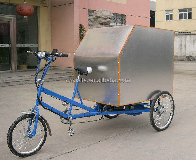 Electric Alloy Cargo Trike