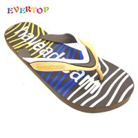 EVERTOP Top Selling Good Quality Summer Fashion Casual Man Slippers