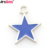 Customized Chinese fashion metal enamel star pendant necklace