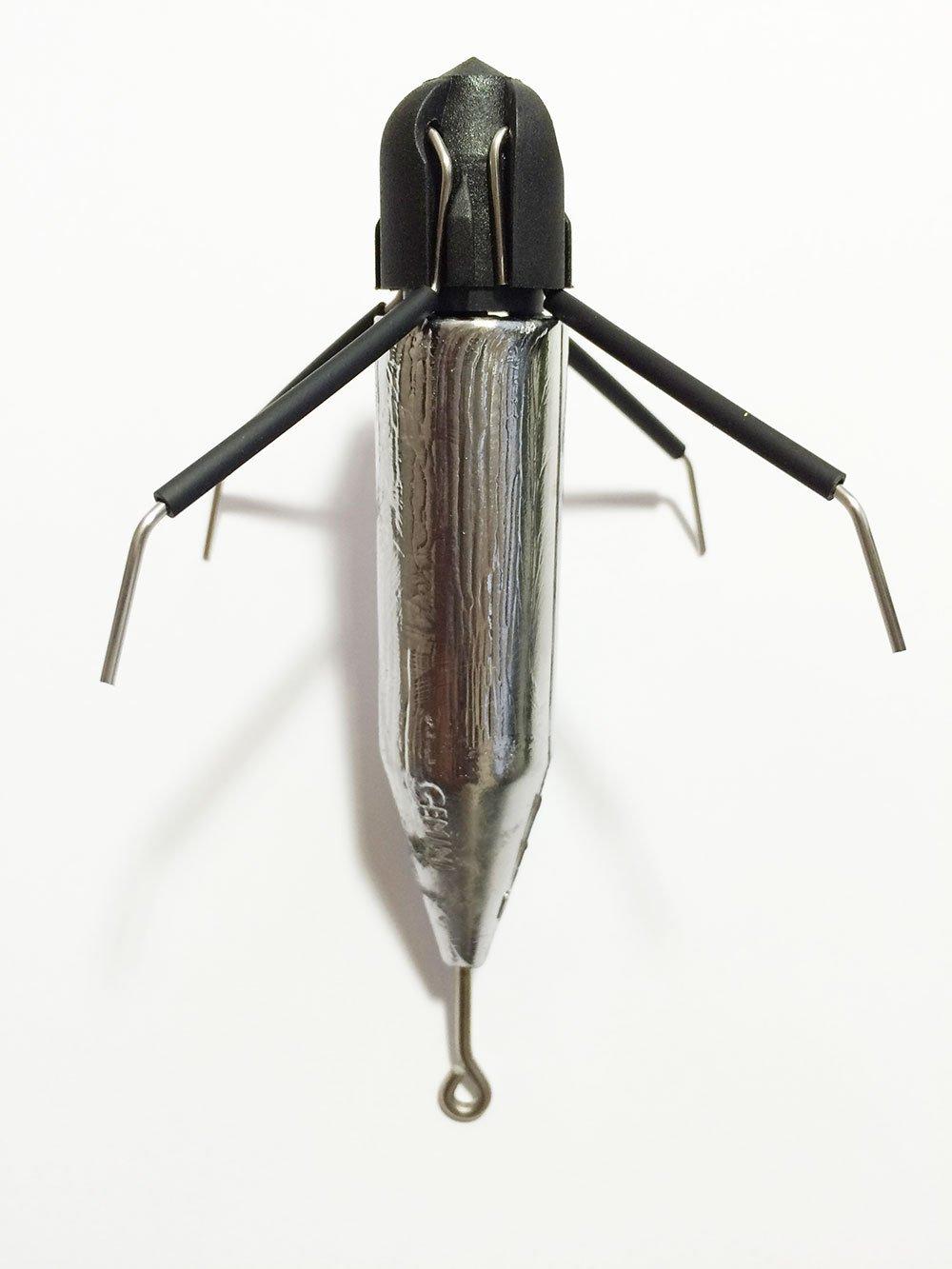 5 pcs Gemini Breakout Sinkers 6 oz Surf Sputnik Sinker Spider Weights