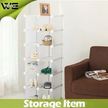 Shoe Storage Rack,12 Cube Home Plastic Cabinets Storage,plastic Shoe Rack  With Many