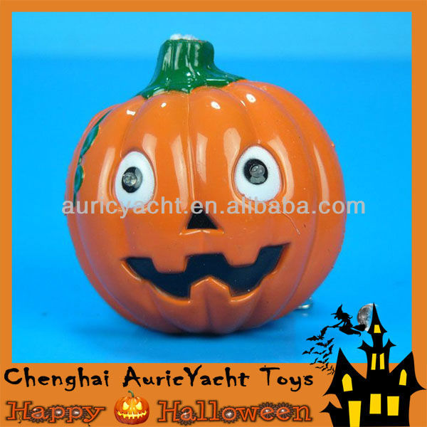 new arrival double face led halloween articial fake plastic pumpkin ZH0908251