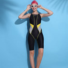Custom one piece sun protection girls swimsuit women's swimwear