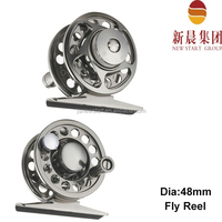 48mm diameter dam quick fly fishing reels