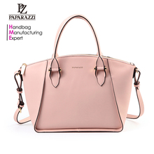 5214 Italian Leather Handbag Fashion Trends Dual Use Women Handbag carteras 2017 Best Selling
