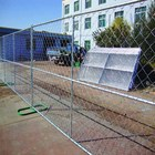 Professional factory used US chain link temporary fence panel