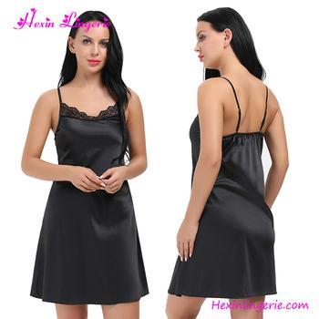 8d09448488 Black Lingerie Sexy Bedroom Night Wear Homewear Wholesale Nightwear ...