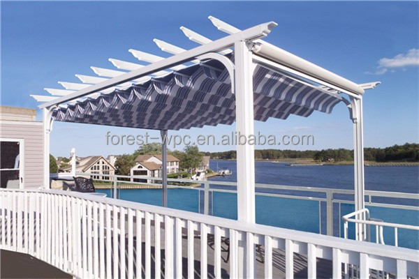 gazebo gazebo construir pergola de madera con madera wpc decking compuesto plstico