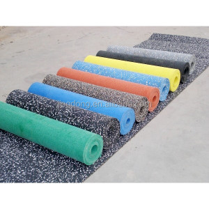 Promotional Top Quality rubber mat gym