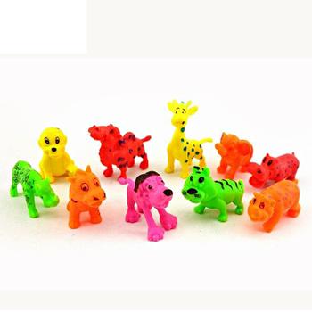 Cheap Mini Zoo Animal Models Plastic Wild Animal Toy Set Buy