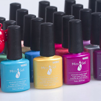 Manufacturer colors nail gel uv gel soak off OEM/ODM UV/LED gel nail polish