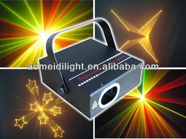 200 mw RGY color animation laser light