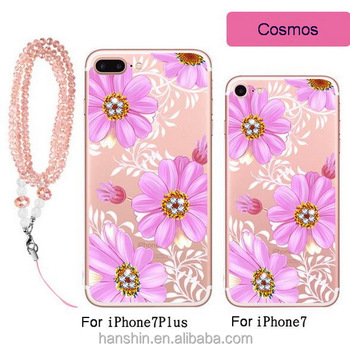 wholesale price phone case for iphone7 7plus case jewelry bracelet include