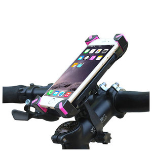 Bicycle Cell Phone Accessory Stand Magnetic Mobile Support Mount Bike Car Holder