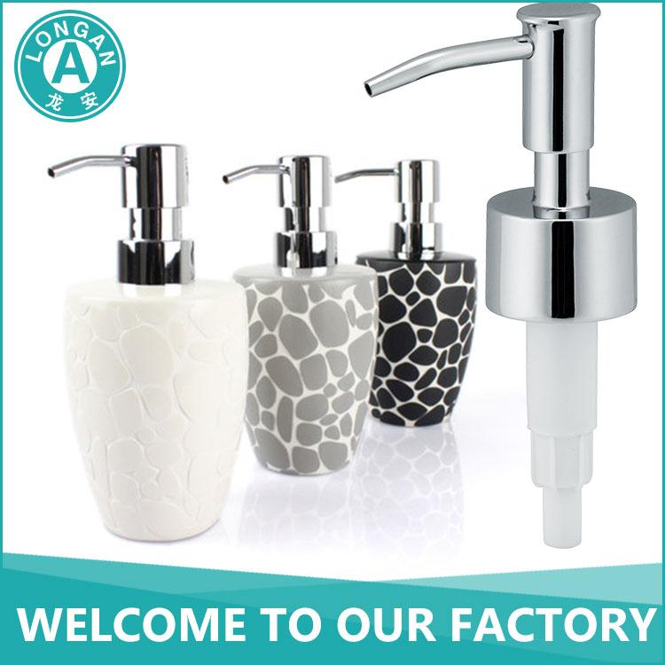 la fp06 liquid bottle pump metal foam soap dispenser pump 28mm foam pump - Soap Dispenser Pumps