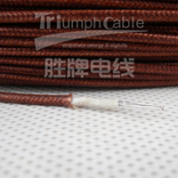 16 AWG fiberglas braided silicone wire UL listed style
