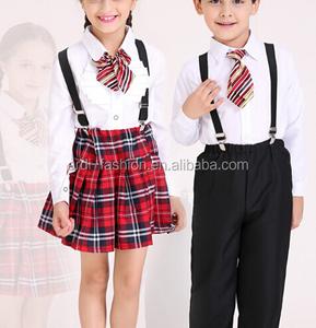 latest arrival children primary tracksuit school uniform set
