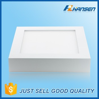 Aluminum Dimmable Led Ceiling Light Lights Flat Panel Detector 15w ...