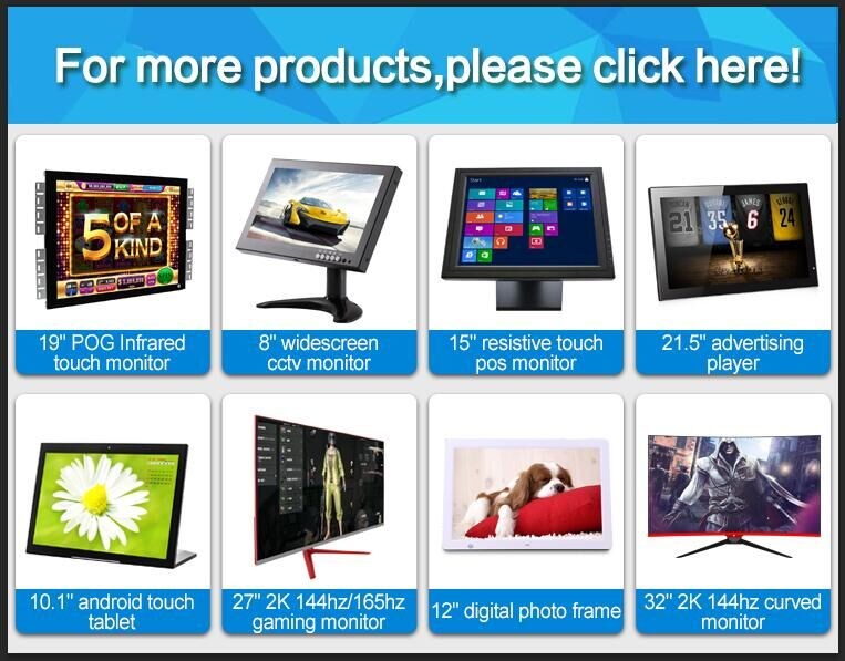 Portable HD 10 inch 10.1 inch led IPS 2k capacitive USB touch screen computer pc monitor