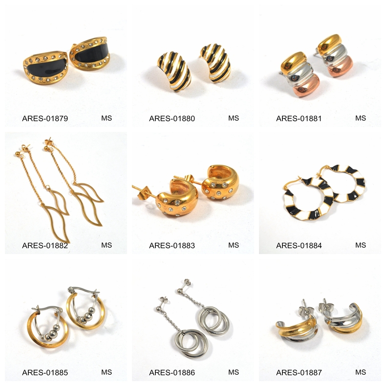 Small Gold Earrings Wholesale Earrings Gold Plate Ring