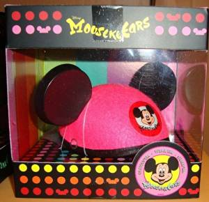 DISNEY MICKEY MOUSE PINK MousekeEars Mini Ear Hat Collection Disney Parks EXCLUSIVE