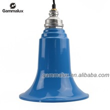 New Sale Pendant Lamp, Blue Pendant Lamp Shade with Colour Textile Wire Cord