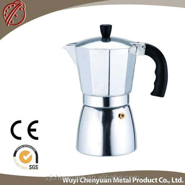 Coffee manual programmable maker decker black coffee with knuckle