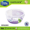 Clear Round Food Container for Food Saver Storge