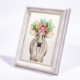 High quality white wall hanging picture frames / photo frame stand