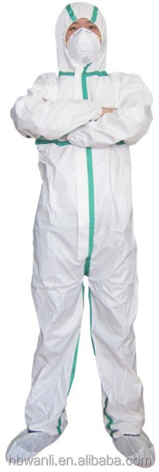 TYPE 56 EN 14605 protective Coveralls